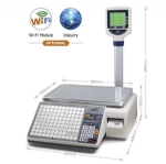 Digital barcode label printing scale LS-MDB